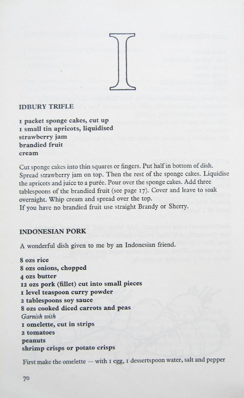idbury cookbook recipe